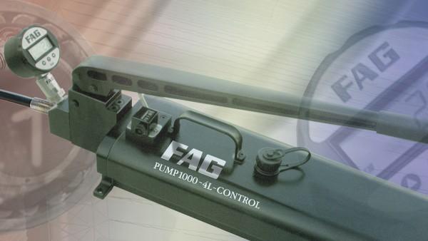 El programa FAG Mounting Manager es sencillo de utilizar y contribuye a asegurar el correcto montaje de rodamientos con agujero cónico.