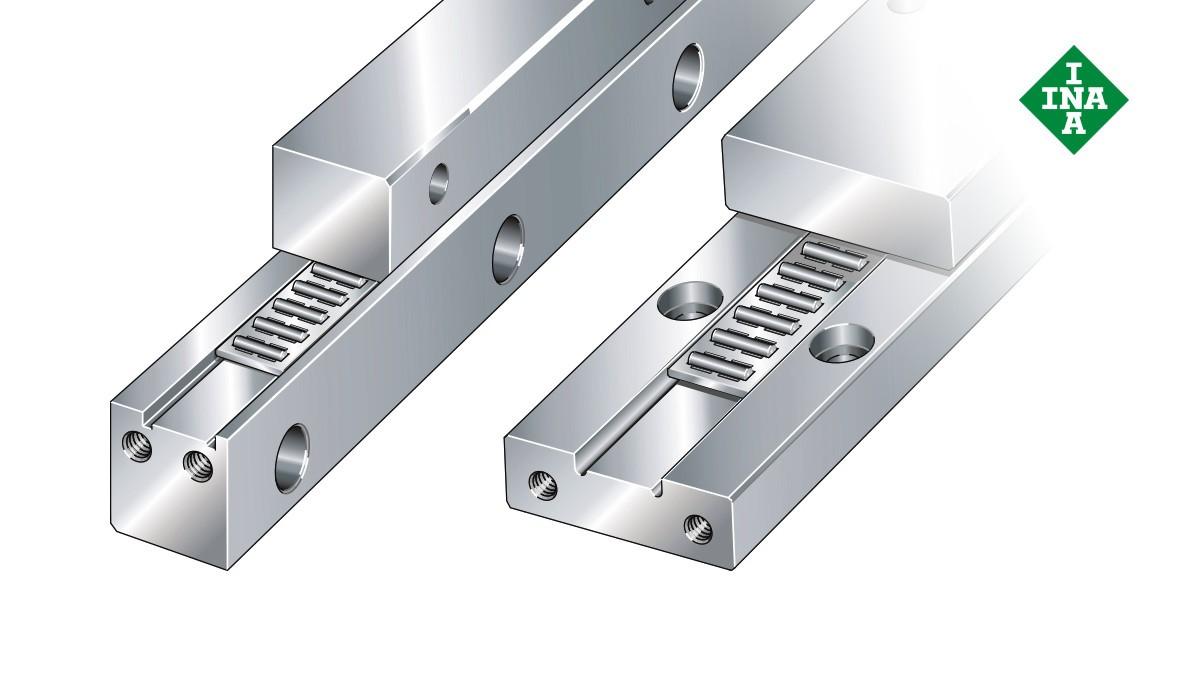 Schaeffler lineærføringer: J-/S-styreskinner med nålerullebånd