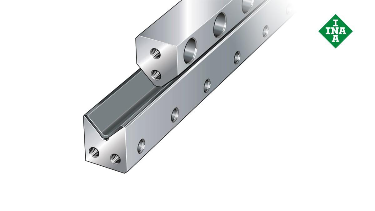 Schaeffler lineærføringer: M-/V-styreskinner med glidebelegg og V-skinner