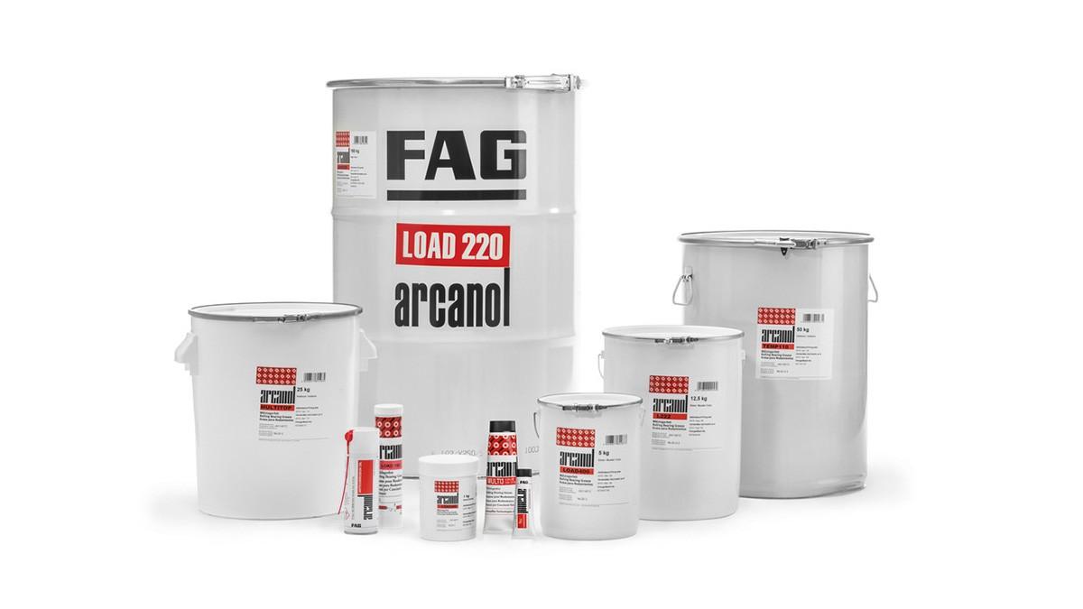 Schaeffler vedligeholdelsesprodukter: Smøremidler