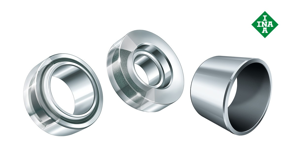 Schaeffler rolling bearings and plain bearings: Maintenance-free plain bearings