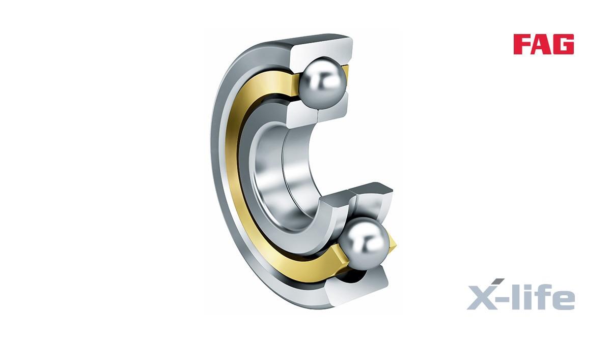 Schaeffler valivé a klzné ložiská: Ložiská so štvorbodovým stykom
