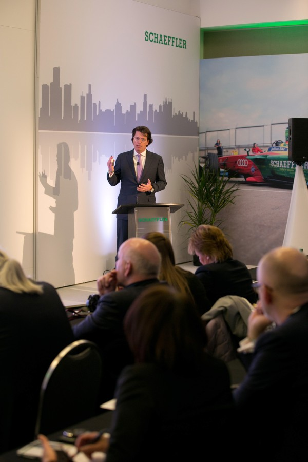 Schaeffler's press conference at the North American International Auto Show 2017