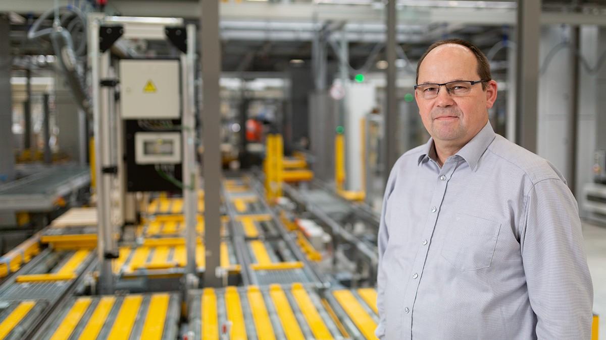 Egon Grief, Maintenance Manager bij Schaeffler's EDC Midden