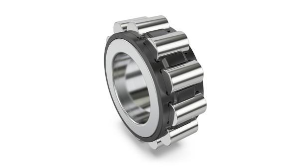 Für Planetenräder bietet Schaeffler nun auch INA-Zylinderrollenlager mit Käfig für hohe Drehzahlen, die identische Außenmaße haben wie die vollrolligen Lager für hohe Lasten.