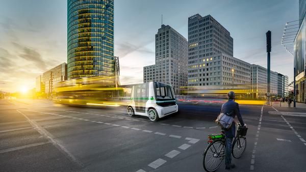Our Vision: Autonomous Urban Mobility
