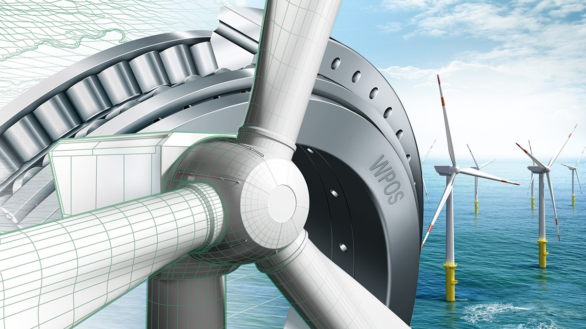 Expertise in bearing technology and service for wind turbines
