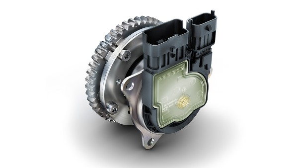 Product development is constantly being refined, as can be seen in the electromechanical camshaft phasing unit.