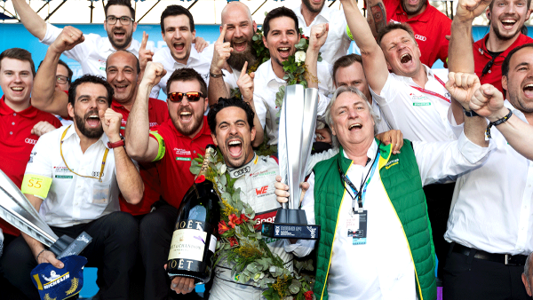 Sensational first win of the season for Audi Sport ABT Schaeffler and Lucas di Grassi