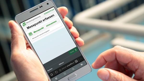 Anstelle wie bisher manuell Daten zu erfassen und in das SAP-System zu übertragen, werden die Informationen künftig per Smartphone direkt in SAP gespeichert.
