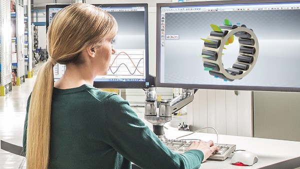 Simulation models are the basis for developing robust bearing systems.