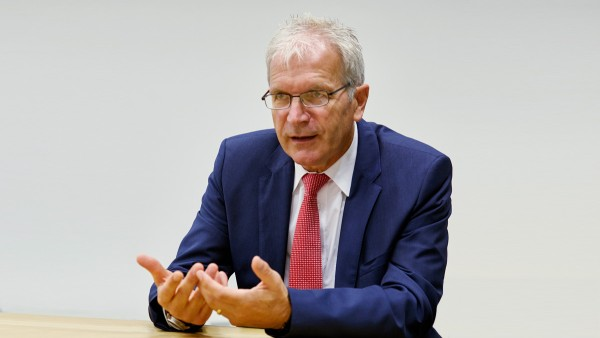 Hans Zirwes, manager of Schaeffler's Wuppertal plant