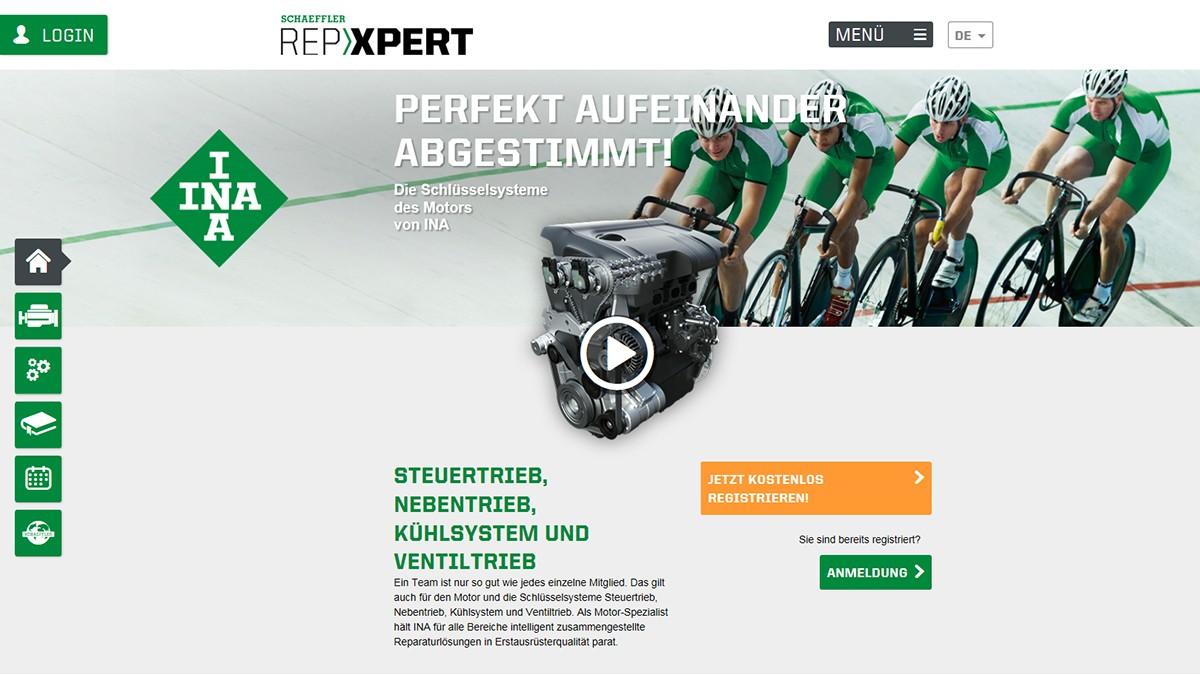 Mit REPXPERT unterstützt Schaeffler Werkstätten durch aktuelle Fahrzeugdaten und Detailinformationen in ihrer täglichen Arbeit.