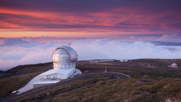 The Gran Telescopio de Canarias on the island of La Palma, one of the world's largest reflecting telescopes, is equipped with a special torque motor from Schaeffler.