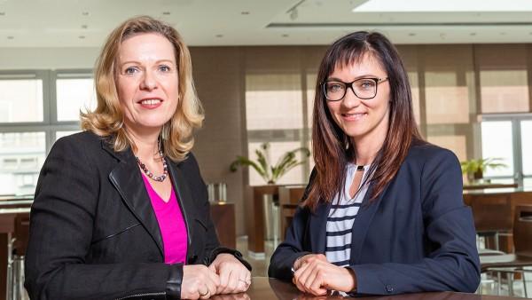 Die ehemalige Top-Studentin Anna Maslow fing nach ihrer Masterarbeit bei Heike Pees-Huschka in der Abteilung Corporate Production Logistics Process Control an.