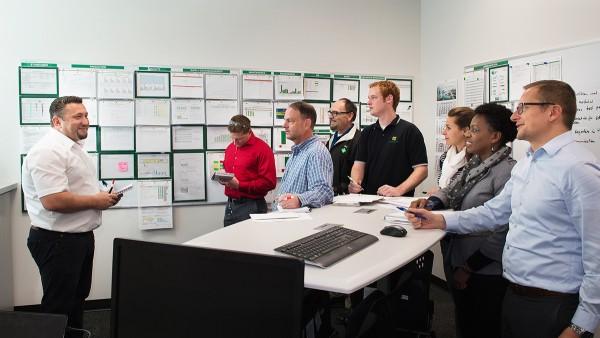 Werkleiter Dr. Sebastian Beetz und sein Team haben alle Hände voll zu tun, um das Wachstum zu stemmen.