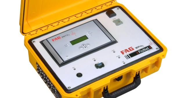 Das mobile FAG WiProM liefert qualitativ hochwertige Daten über den Zustand von Windkraftanlagen.