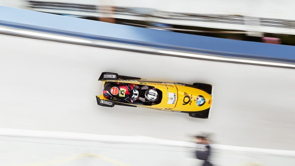 The German national team also drives bobsleds from FES, which are equipped with high-performance bearings from Schaeffler.