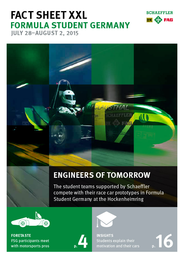 Fact Sheet XXL – Formula Student Germany