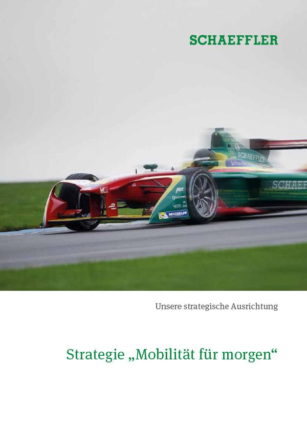 """Strategie """"Mobilität für morgen"""