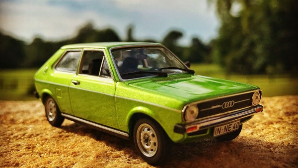 Audi 50, from 1974