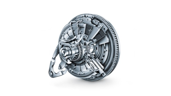 2008: Dry double clutch from LuK is put into volume production at Volkswagen