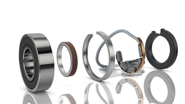 VarioSense bearings supply important data for controlling processes and machine monitoring.