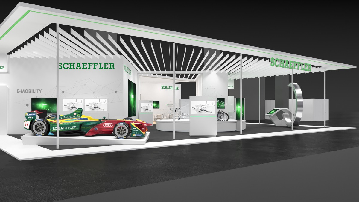 Press kit: Schaeffler at the IAA 2017