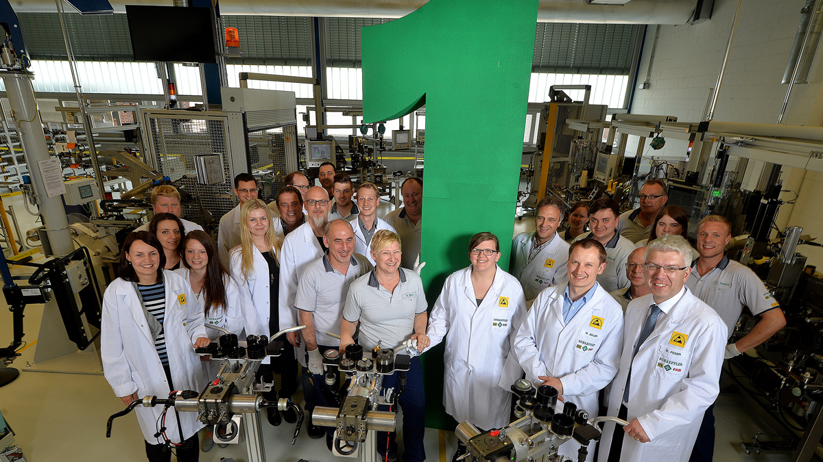 Electromechanical active roll control system made by Schaeffler wins German Innovation Award