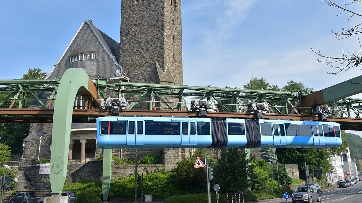 Neues Schweben in Wuppertal